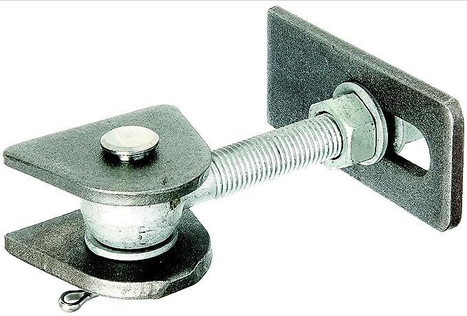 feuerverzinkte Schrauben und Muttern kurze Ausf/ührung GAH-Alberts 411060 Torband f/ür 180/° /Öffnung Bolzen und Splint aus Edelstahl Gewinde: M16