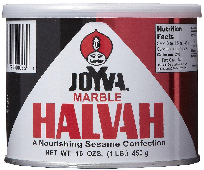 Joyva Halvah Tin Marble by Joyva