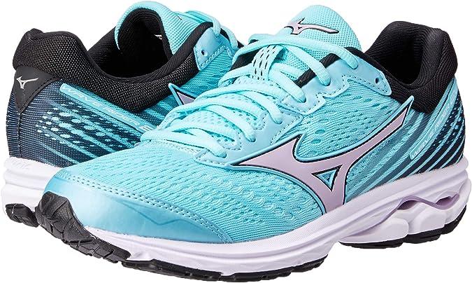 Mizuno Women Wave Rider 22 Neutral Running Shoe Running Shoes Mint - Black 4,5: Amazon.es: Zapatos y complementos
