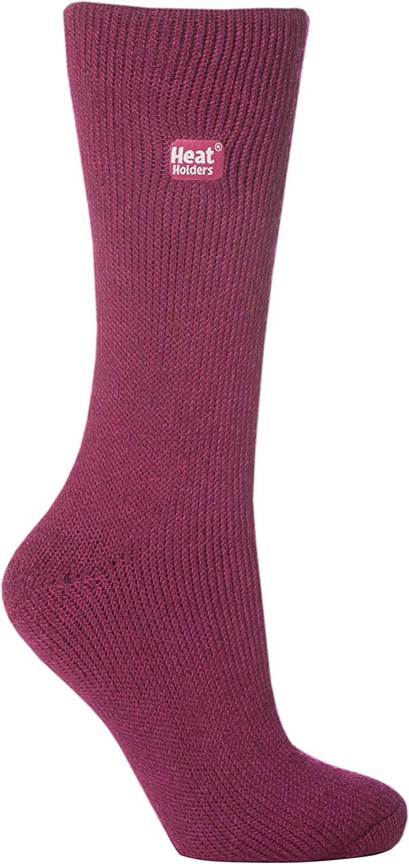 6 or 12 One Size 4-7 Heat Guard Ladies Luxury Thermal Socks Packs of 3