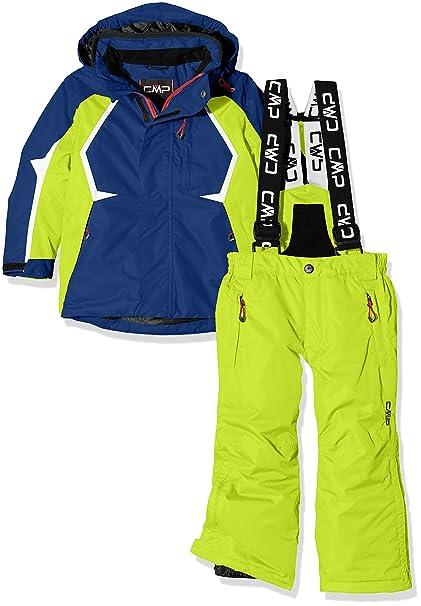 CMP 3W07064, Traje de Esquiar Para Niños, Azul (Nautico), 128 ...