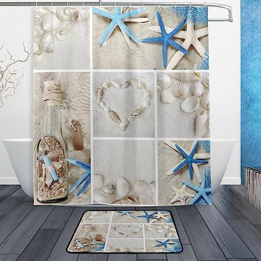 ocean themed bathroom tile