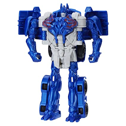 Transformers: The Last Caballero 1-Step Turbo cambiador cyberfire Optimus Prime