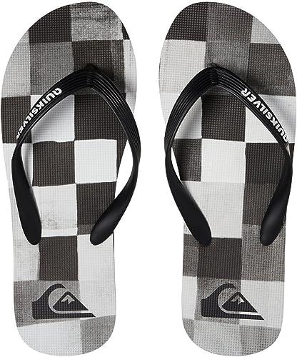 Quiksilver Molokai Resin Check Chaussures de Plage /& Piscine Homme