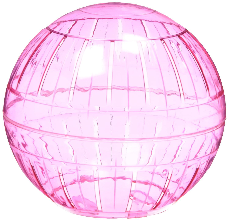Kaytee Rainbow Balls Run-About 7-Inch Hamster Exercise Ball, Color Varies 100079347
