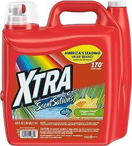 XTRA Calypso Fresh ScentSations High Efficiency Laundry Detergent, 255oz. (1)