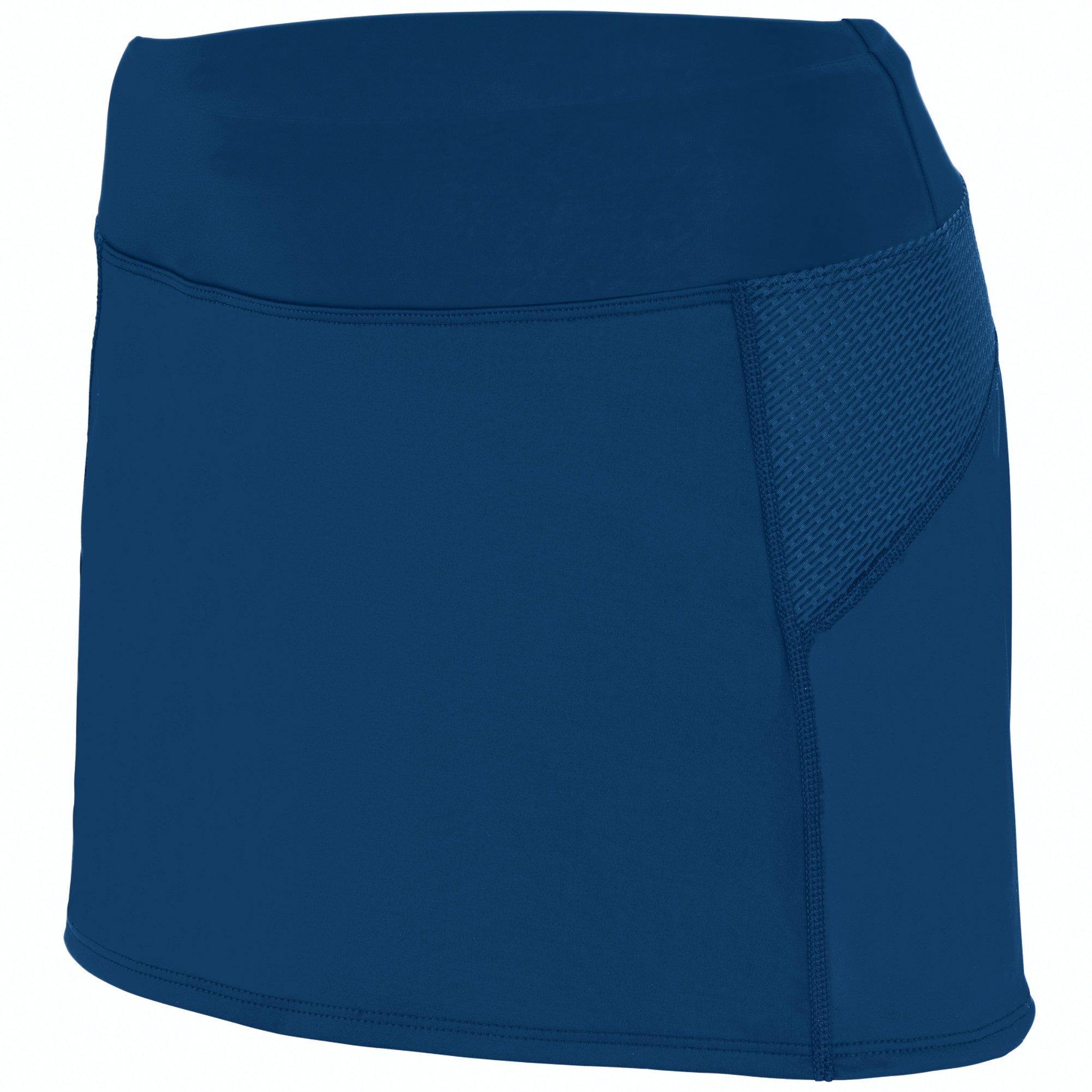 Augusta Sportswear Girls Femfit Skort L Navy/Graphite by Augusta Sportswear