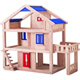 PlanToys Plan Toys Dollhouse Series Terrace Dollhouse