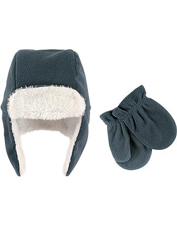8c111106aec Hudson Baby Baby Girls  Fleece Trapper Hat and Mitten Set
