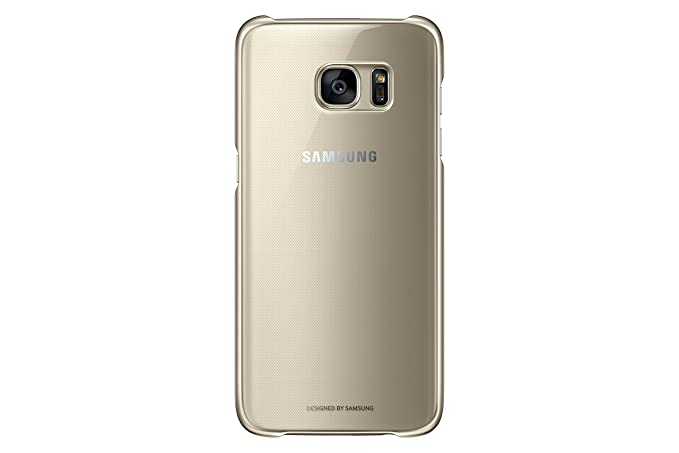 factory price 7ea9e 3474d Samsung Galaxy S7 edge Case Clear Protective Cover - Gold