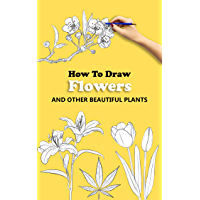 how to draw Flowers: Plants drawing tutorials with this book will learning how to draw flowers,how to draw Plants, how…