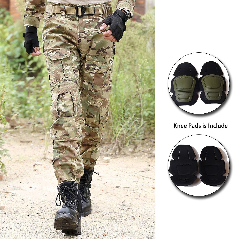 Ropa Bwbike Pantalones Tacticos Militares Para Hombres Con Rodilleras Pantalones De Trabajo De Combate Deportes Y Aire Libre Terenowiec Com