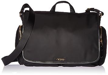 Womens Mini D Ring Crossbody Messenger Bag Black (Black) Warehouse DyDzka