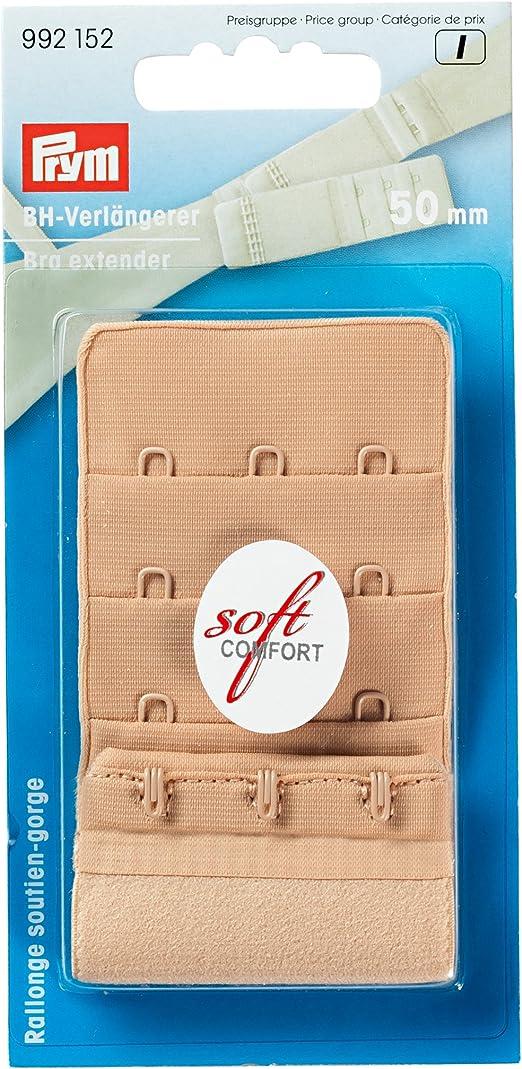 BH Verlängerung 40mm 2 Haken BH Verlängerer NEU Prym Soft Comfort Erweiterung