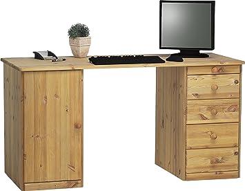 Steens Kent Schreibtisch 1 Tür 4 Schubladen 150 X 77 X 60 Cm Bh