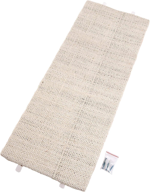Karlie 46243 Rascador de Pared Sisal para Gatos, 28 x 80 cm, Beige