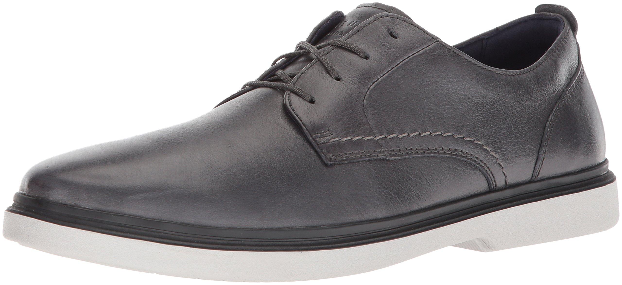 Cole Haan Men's Brandt Plain Toe Oxford, Magnet/Vapor Grey, 10.5 Medium US