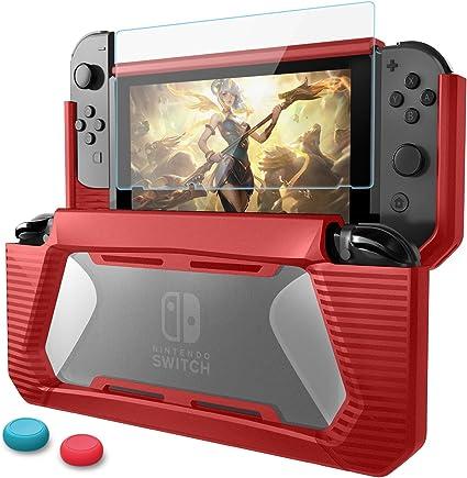 Funda Compatible con Nintendo Switch con Protector de Pantalla ...