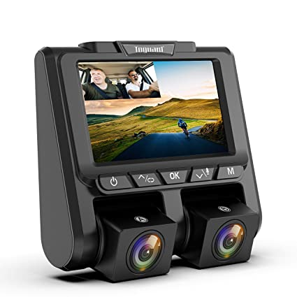 Dual Dash Cam >> Toguard Uber Dual Dash Cam Full Hd 1080p 1080p Inside And Outside Car Camera Dash Cams 3 Lcd 340 Dashboard Camera With G Sensor Wdr Parking
