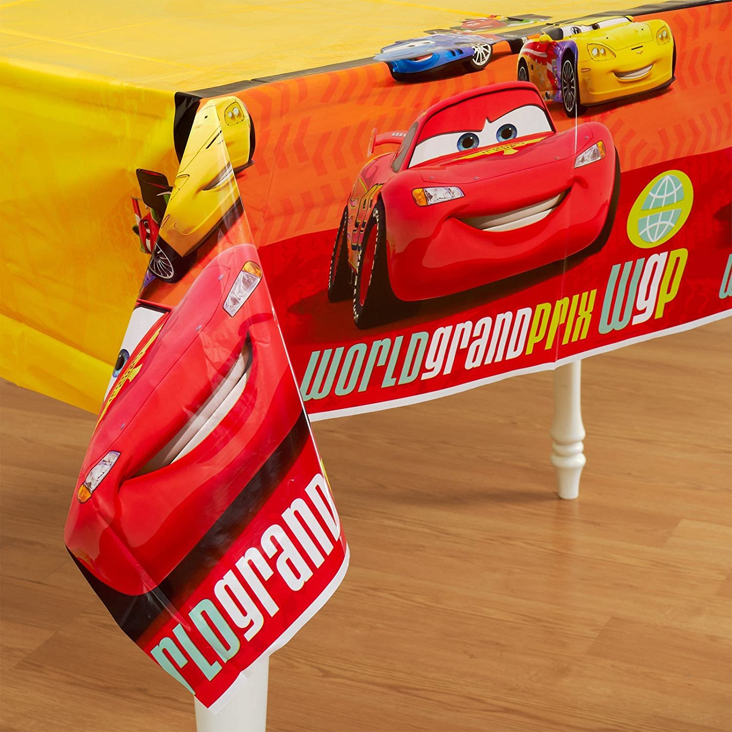 Disney Cars 2 Plastic Table Cover 1ct