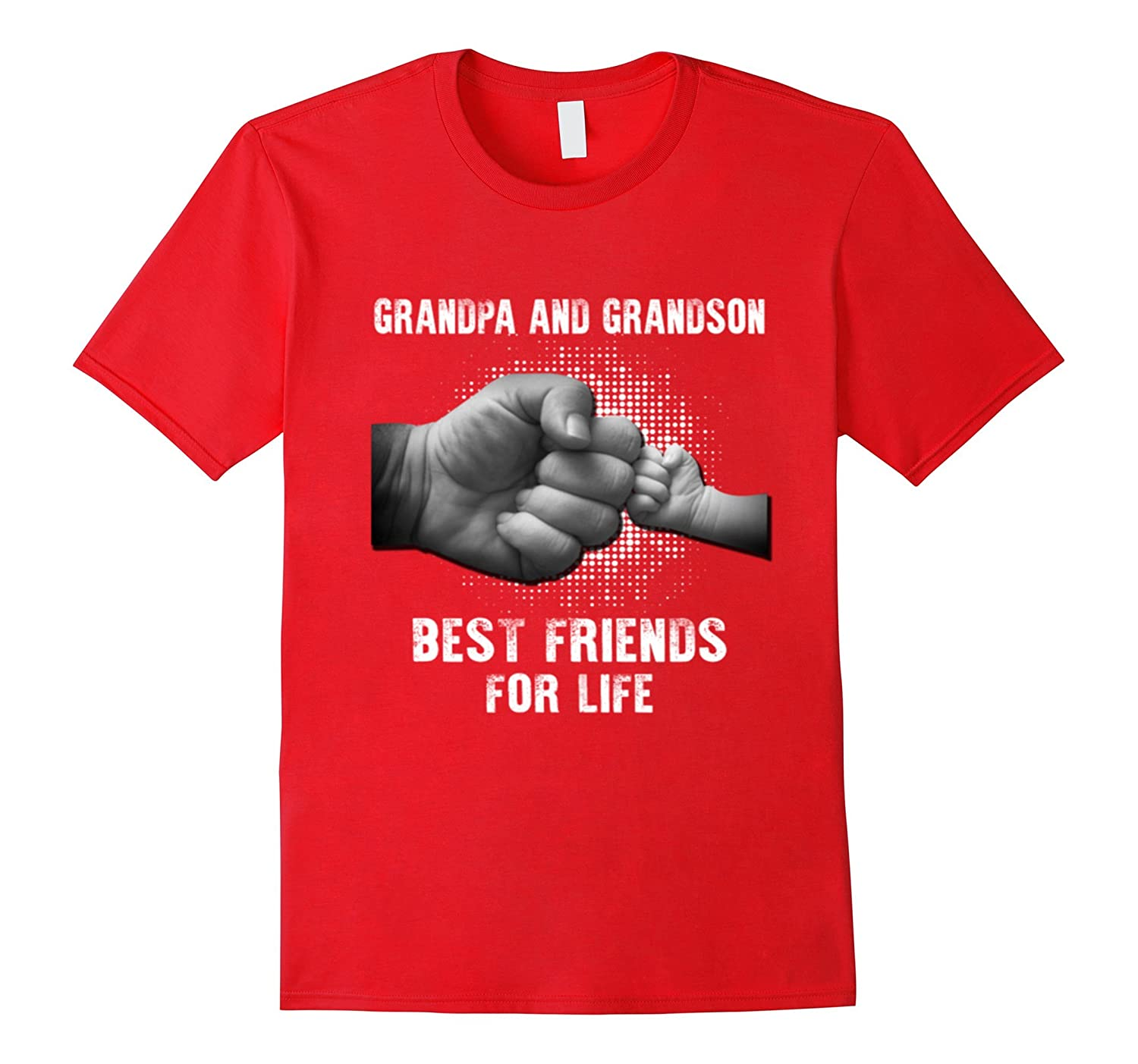Grandpa and grandson best friend for life T Shirt-TD