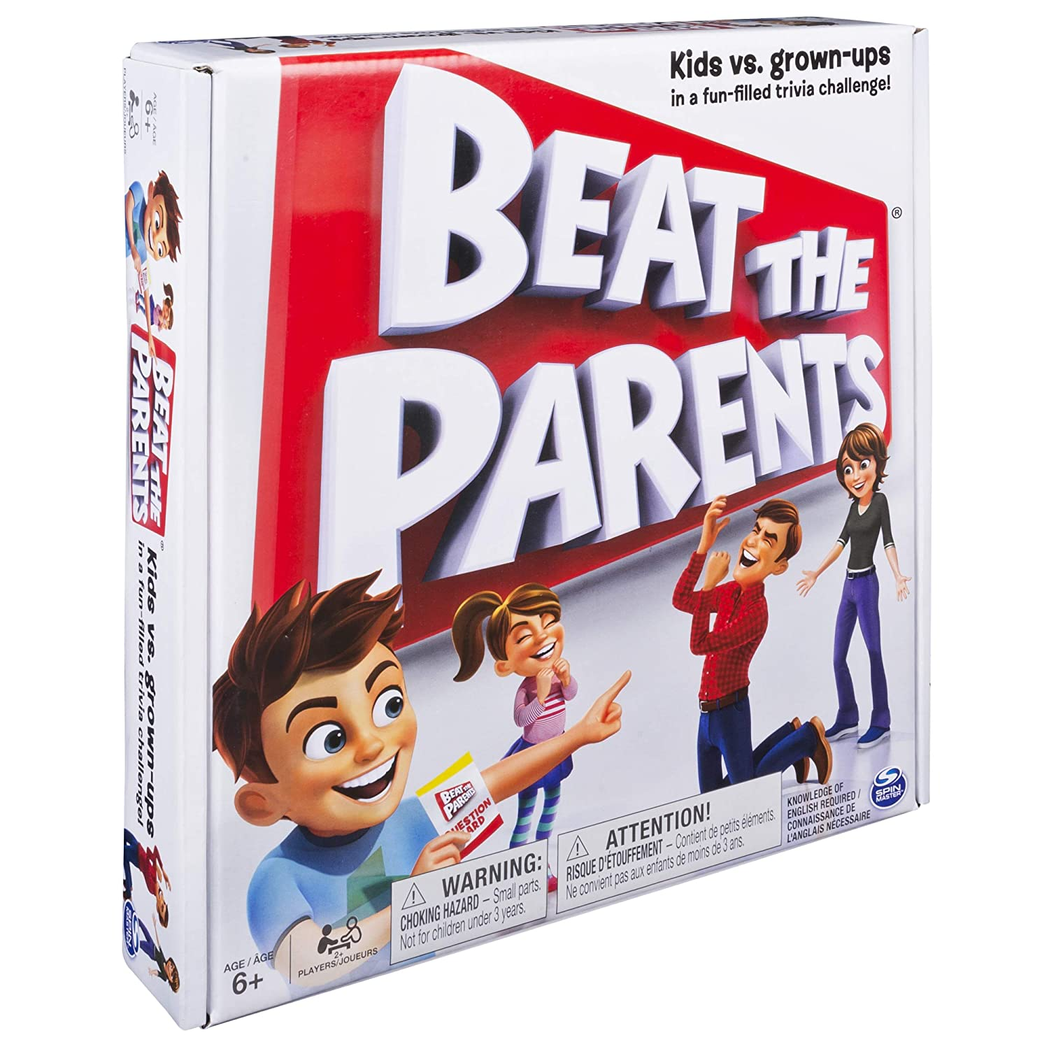Spin Master Games Beat The Parents Game