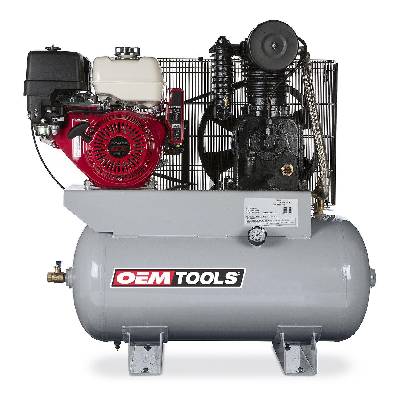 OEMTOOLS 26105 13HP 30 Gallon Honda Gas Powered Air Compressor
