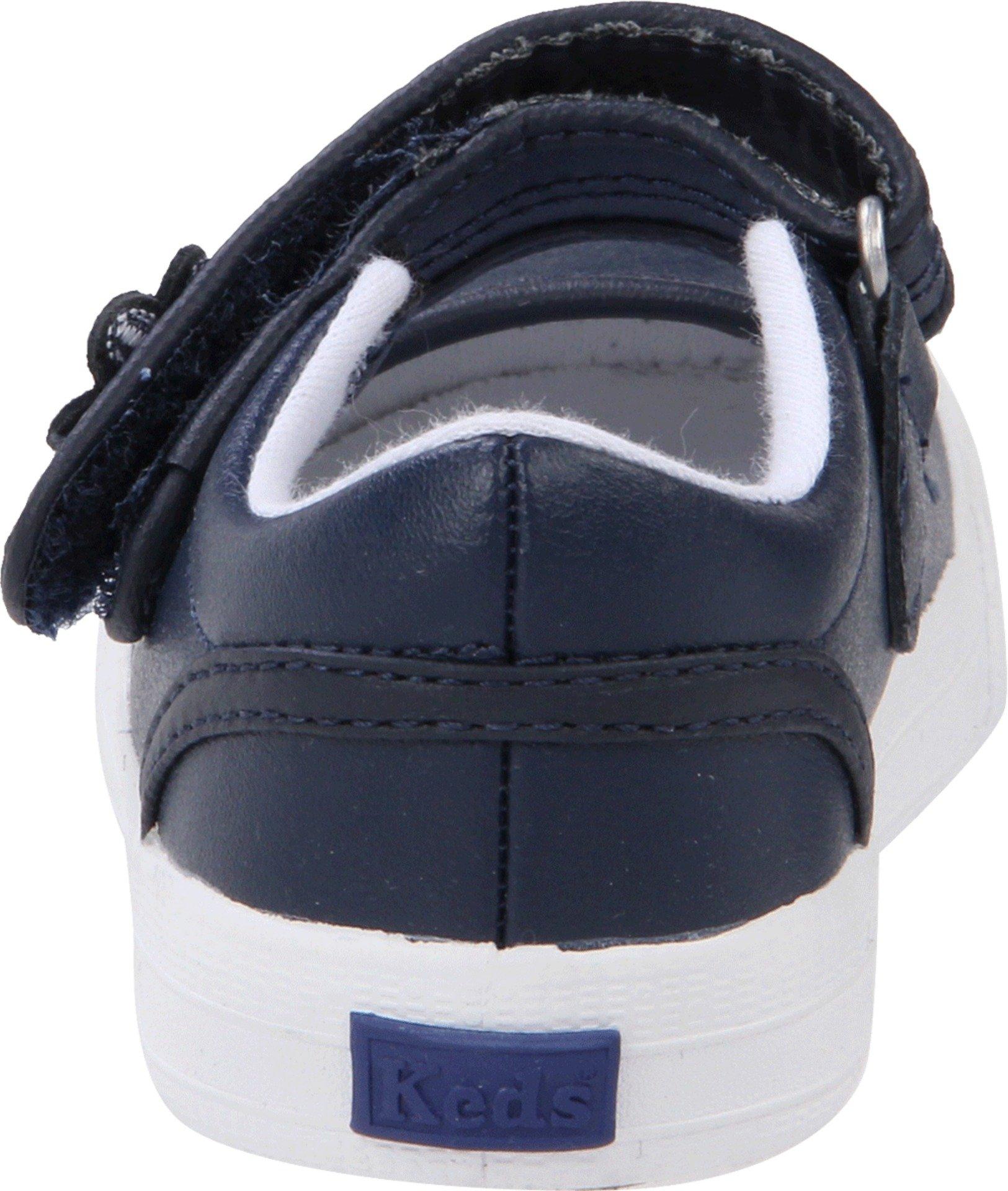 Keds unisex-child Ella Mary Jane Sneaker ,Navy,11 M US Little Kid by Keds (Image #2)