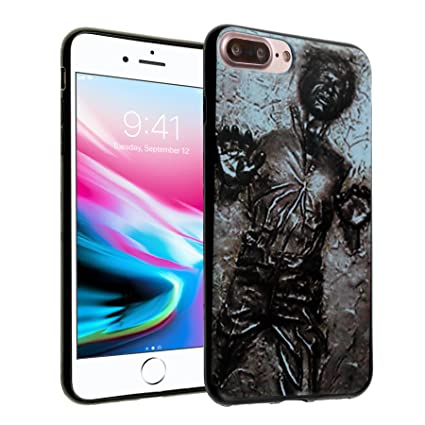 quality design c5031 3c4a0 iPhone 8 Plus Case, Star Wars Han Solo Carbonite Case DURARMOR FlexArmor  Flexible TPU Bumper Case Ultra Slim ScratchSafe Shock Absorbing Defender ...
