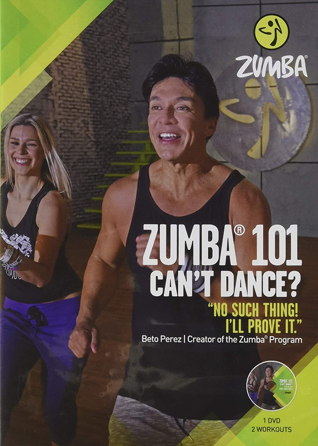 Zumba 101 Workout DVD - Best Zumba dvd for Beginners