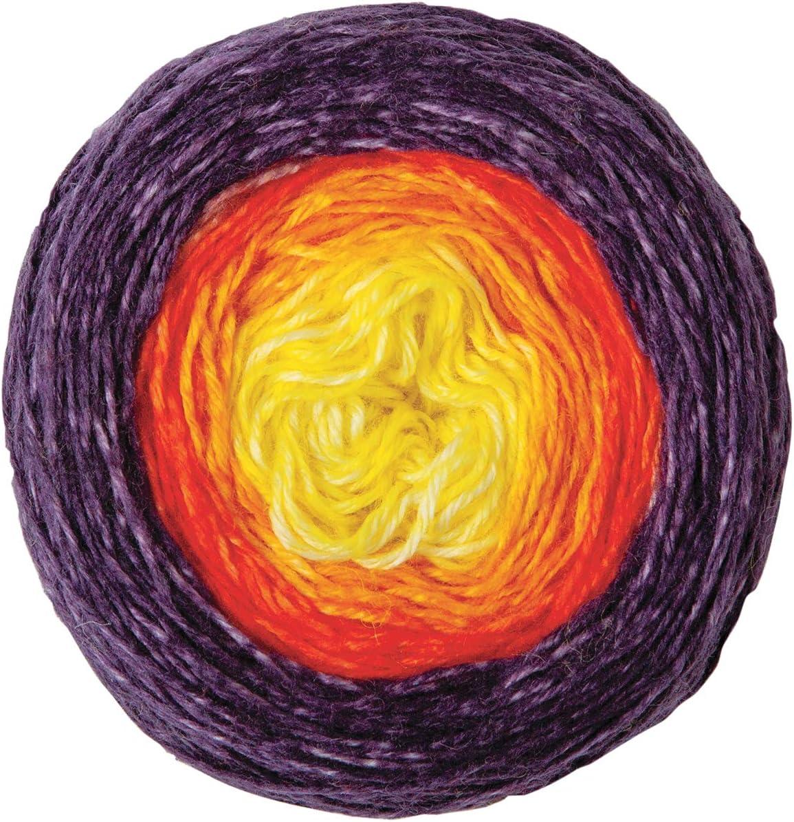Knit Picks Stroll Gradient Superwash Merino Wool Fingering Weight Yarn - 100 Gram Cake (Dragon Breath)