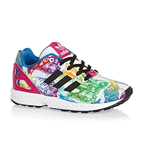 Zapatillas para niï¿œa, color Blanco , marca ADIDAS ORIGINALS, modelo Zapatillas Para Niï¿œa ADIDAS ORIGINALS ZX FLUX C Blanco: Amazon.es: Zapatos y ...