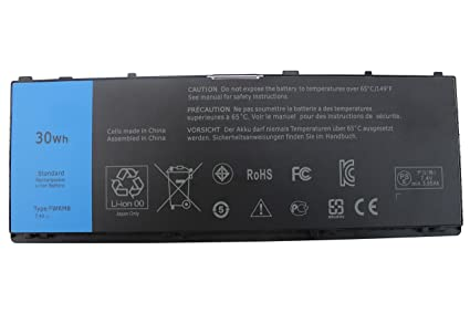EBOYEE FWRM8 7 4V 30WH Laptop Battery Compatible Dell Latitude 10 Latitude  10 ST2 Latitude 10 ST2E Tablet C1H8N FWRMS CT4V5 KY1TV PPNPH 1VH6G YCFRN