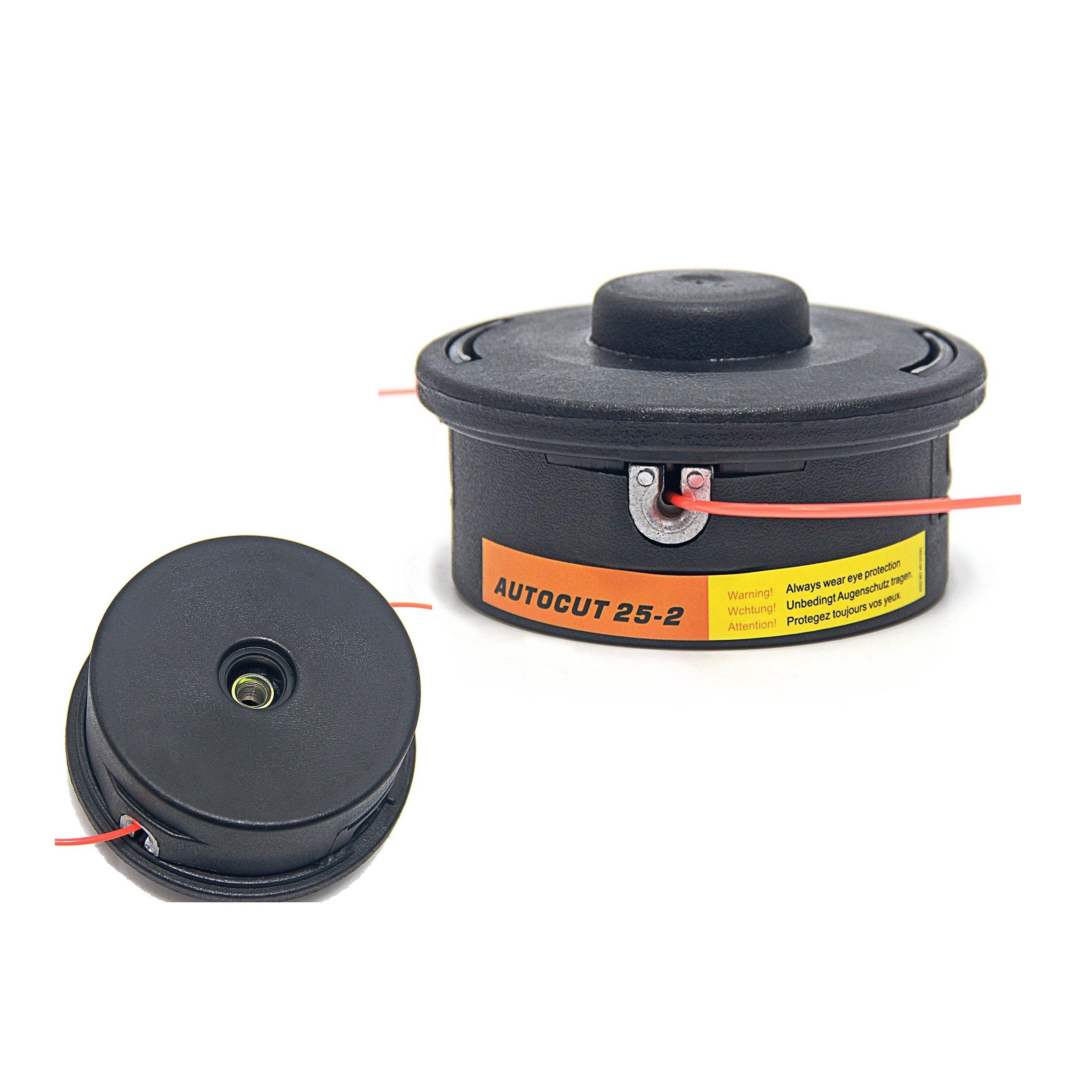 Hippotech Trimmer Head Fits Stihl FS44 FS55 FS80 FS83 FS85 FS86 FS88 FS90 FS110 FS130 Replacement Part Number :4002-710-2191 & 4002-713-9608