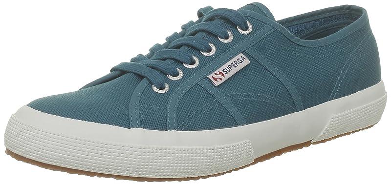 Superga 2750 Cotu Classic Sneakers Low-Top Unisex Damen Herren Blau (Ottanio)