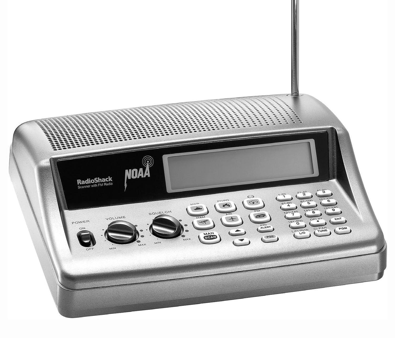Amazon.com: RadioShack® PRO-405 200-Channel Desktop Radio Scanner: Home  Audio & Theater
