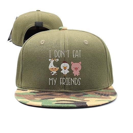 9ce653af565 Amazon.com  I Don t Eat My Friends Baseball Hat Men and Women Summer ...