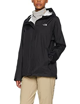 The North Face W Venture 2 Jacket Chaqueta, Mujer, TNF Negro, S