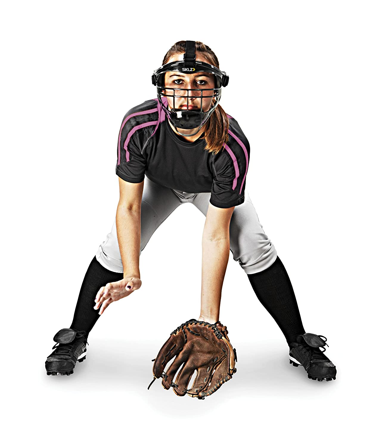 9c9ac36e Amazon.com : SKLZ Field Shield. Full-Face Protection Mask for Softball  (Youth/Adult Sizes). : Baseball Face Guards : Sports & Outdoors