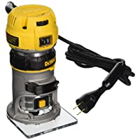 DEWALT DWP611 1.25 HP Max Torque Variable Speed Compact Router with Dual LEDs