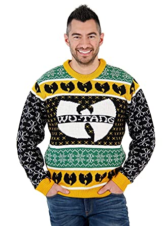 e8aa3aa1bce Amazon.com  Wu-Tang Clan Logo Ugly Christmas Sweater  Clothing
