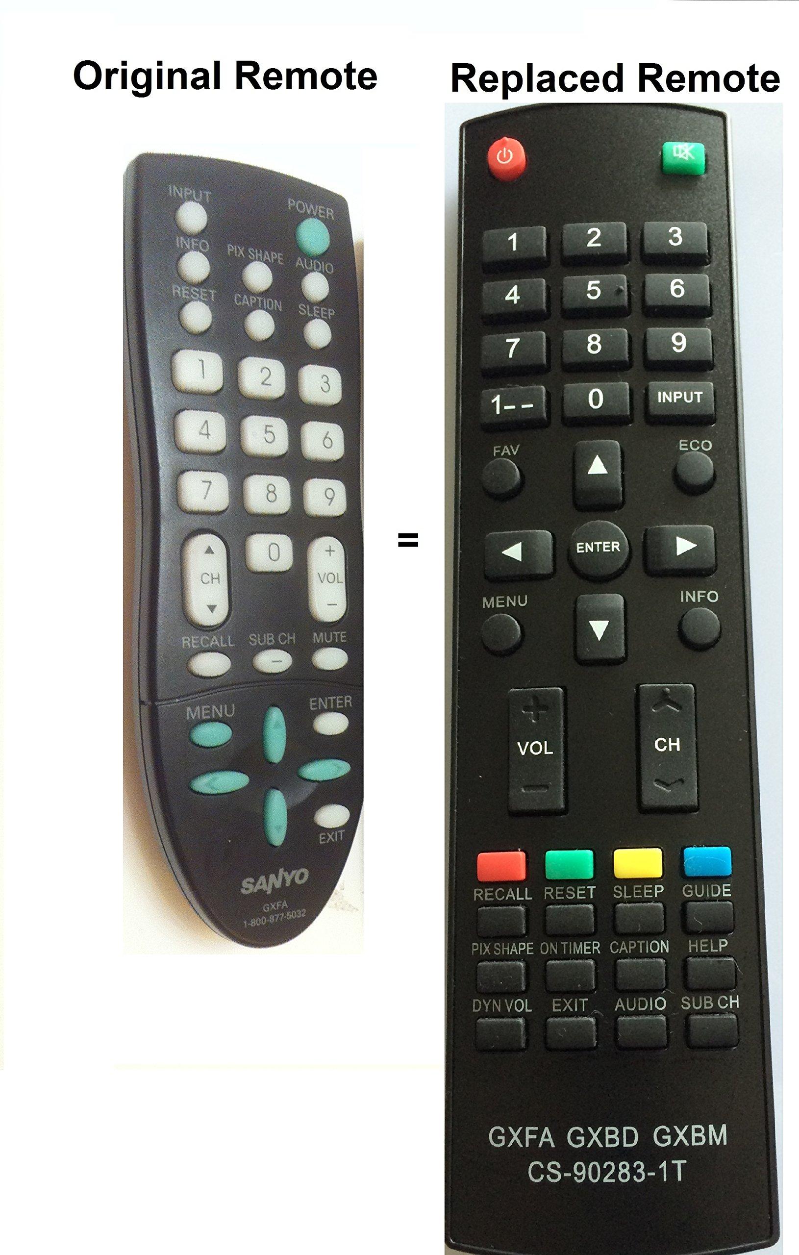 Control Remoto Sanyo GXFA GXCC DP19648 DP26649 DP19649 DP...