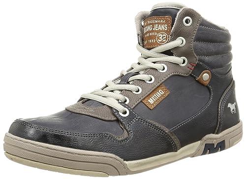 Mustang 4064504, Alpargatas para Hombre, Azul (800 Dunkelblau), 45 EU: Amazon.es: Zapatos y complementos