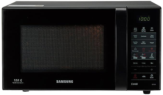 Samsung 21 L Convection Microwave Oven Ce73jd B Xtl Black Amazon