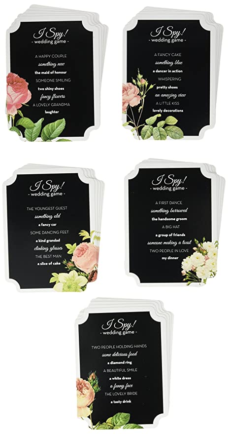 Talking Tables Blossom Wedding I Spy Game: Amazon.co.uk: Kitchen & Home