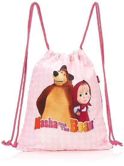 Amazon.com  Target Gym Bag Masha and The Bear 17641 1df4a589ef2b3