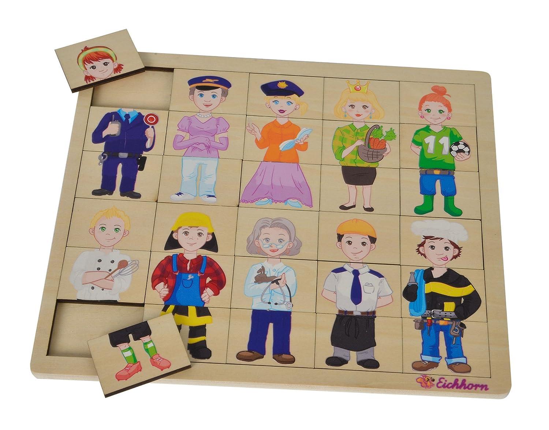 Eichhorn 100005408 Puzzle avec 30 Compartiments 26 x 22 cm certifié FSC 100 % Bois de Tilleul Eichhorn 100005408 Puzzle avec 30 Compartiments 26 x 22 cm certifié FSC 100 % Bois de Tilleul Simba Toys