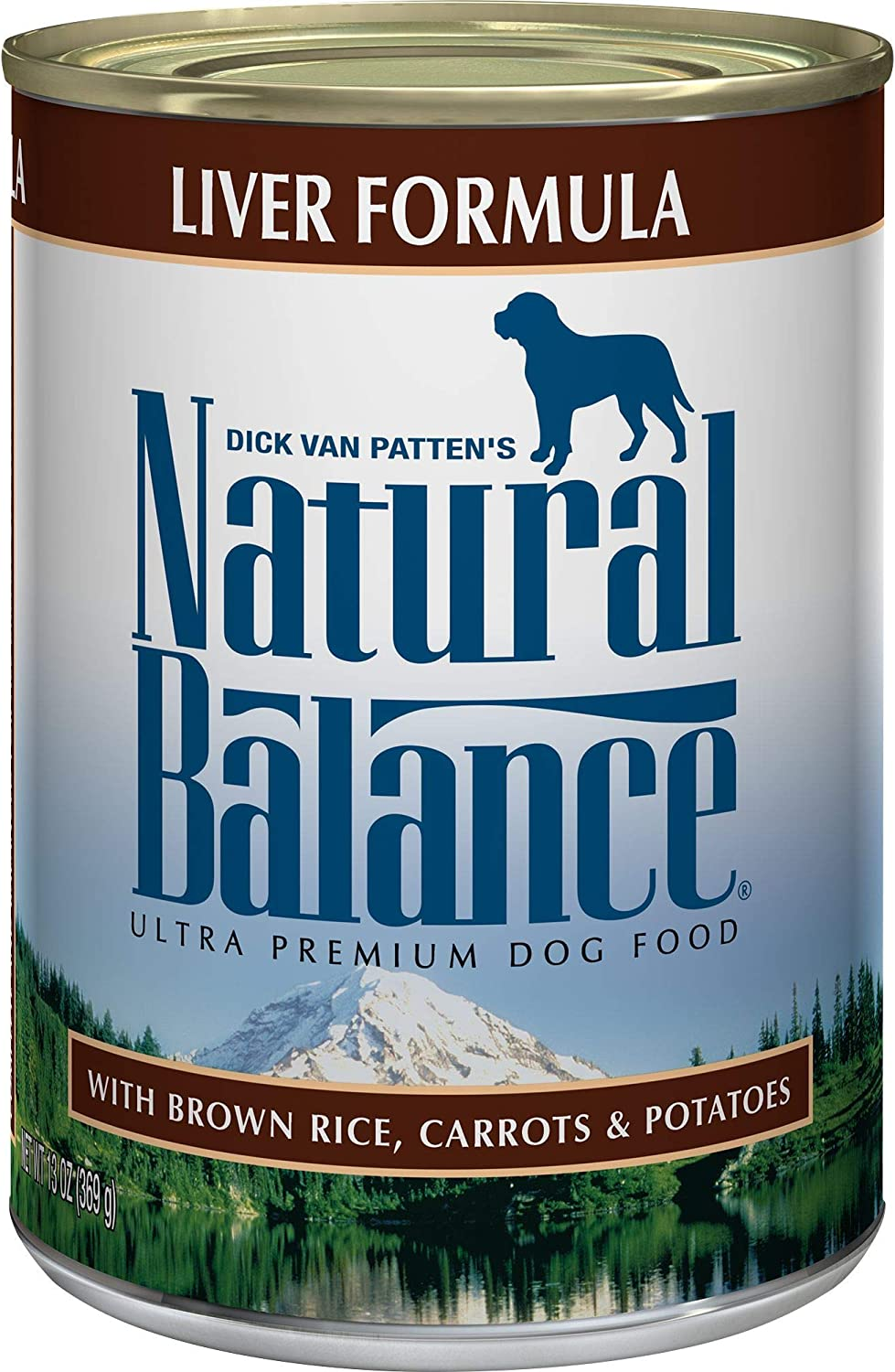 Natural Balance Ultra Premium Wet Dog Food, Liver, Brown Rice, Carrots & Potatoes