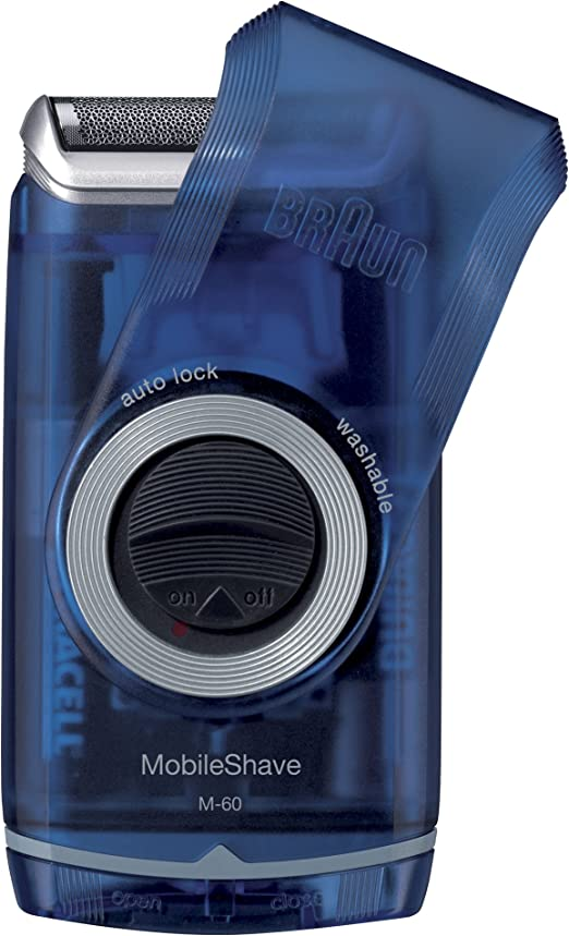 Braun M-60b - Afeitadora (Máquina de afeitar de láminas, Azul ...