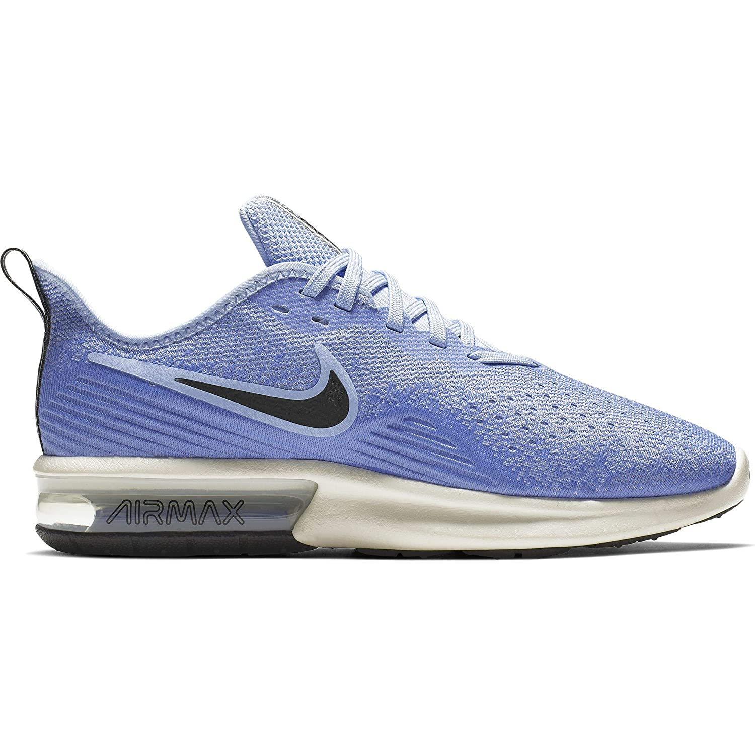 Buy Nike Women's WMNS AIR MAX Sequent 4 AluminumBlack Royal
